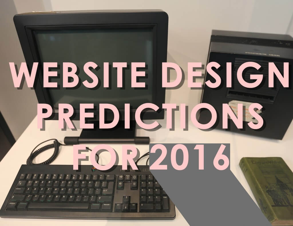 Website Design Predictions